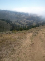 Fog Drifting In on Montara Mountain